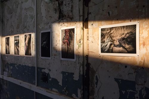 Fashioned Worlds Exhibition Photography by Unai Mateo