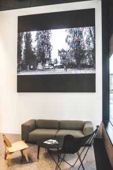 A video installation created for Universal Music's new Pancras Square offices