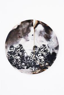 Skull print by Mariwan Jalal.