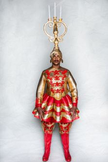 Costume for Erte Der Rosenkavalier