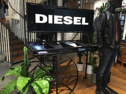 Fashion Retail Management students takeover Diesel's flagship store