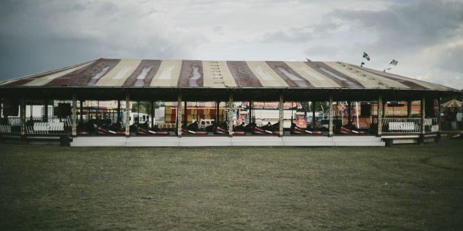 fairground tent