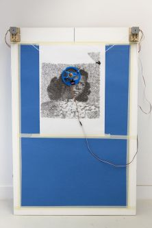 Digital drawing machine by Adam Donnelly.