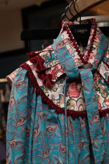 Shirt with Liberty print by designer Daniel Pascal Tanner