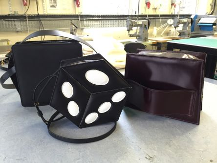 Leather Bags made by students