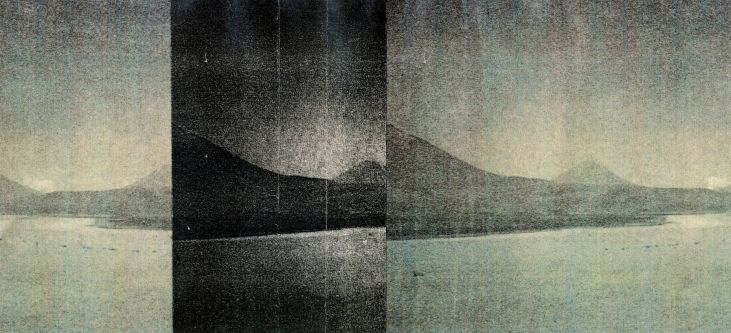 Landscape print by Victoria Ahrens.