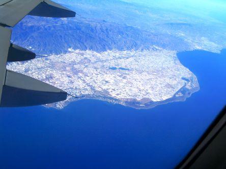JOYA view from plane