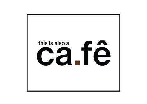 Felipe Blasca's final cafe logo, text based.