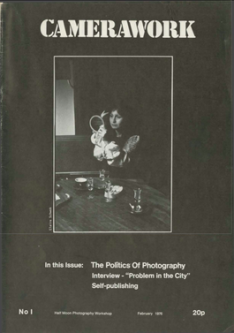 Cover of Camera Work Magazine Issue 1