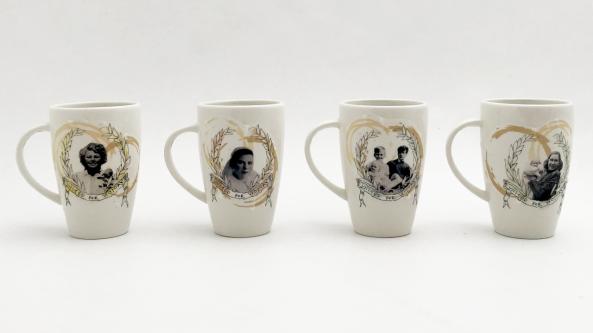 Series of mugs