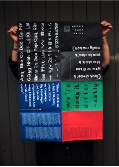 Typography by Frank Sharman.