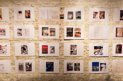 An exhibition of images and text