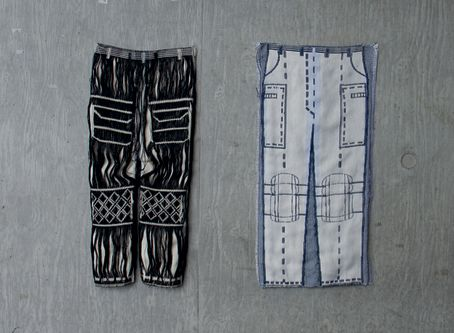 Two pairs of trousers