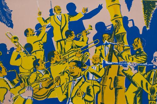 Band illustration by Gaurab Thakali