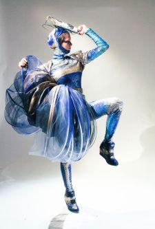 Dance costume by Rafael Jakimiuk.