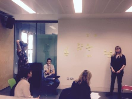 MA CCC students developing the project research questions