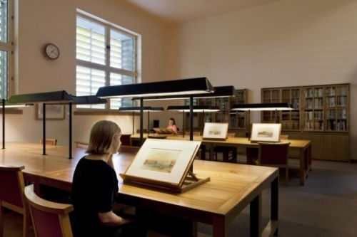 Tate Britain archive reading room