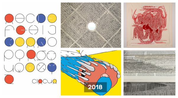 Composite of UAL student artworks
