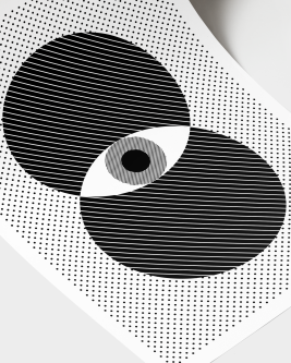 poster eye on the prize Monochrome Catalogue