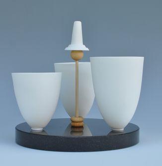 A range of ceramic vessels