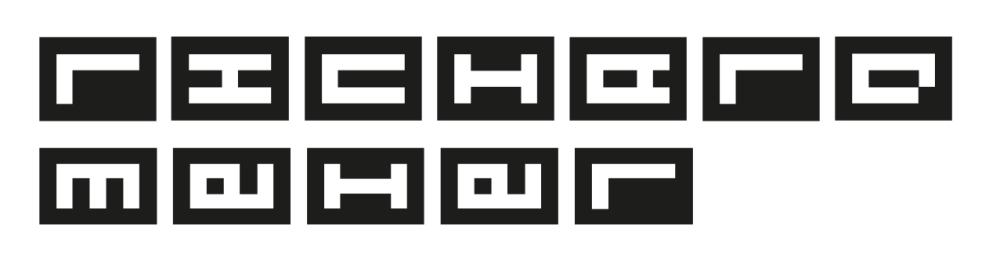 Typeface graphic design work.
