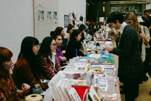 Holiday market vendors