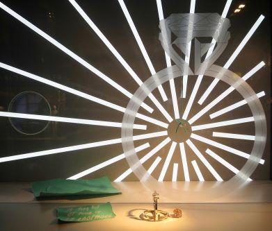 Fashion Visual Merchandising Visit to View Tiffany Windows