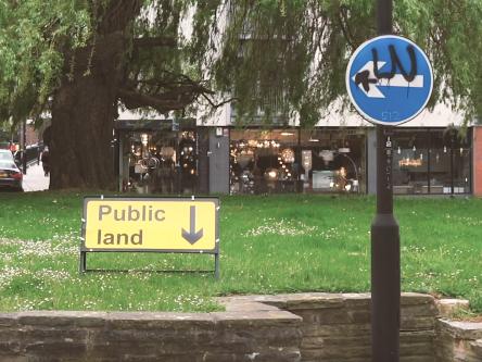 Photography of sign saying Public Land
