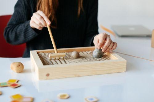 Student work featuring a model by Su Kizilagac, MA Games Design
