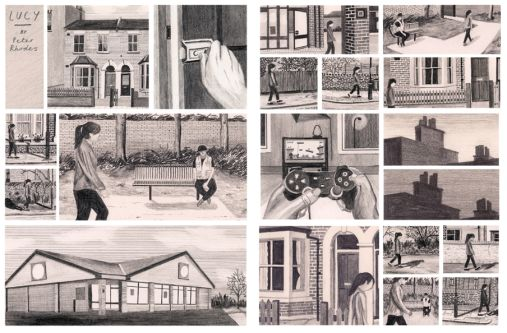 Storyboard by Peter Rhodes