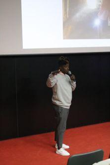 Mike Calandra Achode presenting