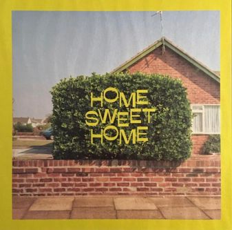 Book cover with text Home Sweet Home