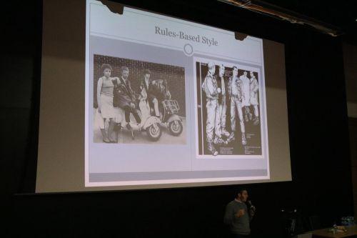 Nathaniel Weiner presenting