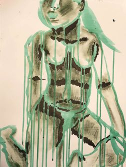 Nude painting by Ellen