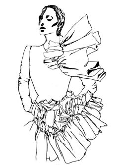 Ruffles sketch