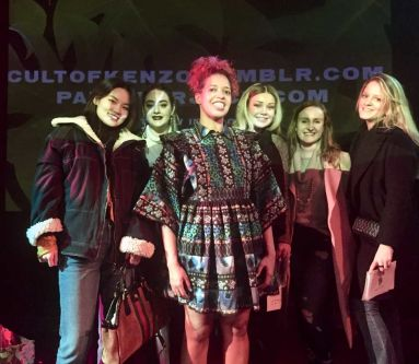 Fashion Visual Merchandising Trip to Theatre to see the Cult of Kenzo