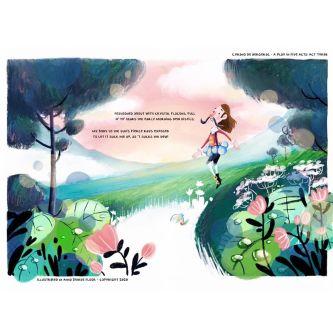 Anna's book illustrations.