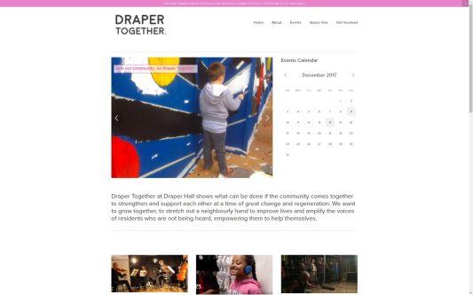 Website design for Draper Together