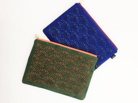 Suede bags by Kaloskopic