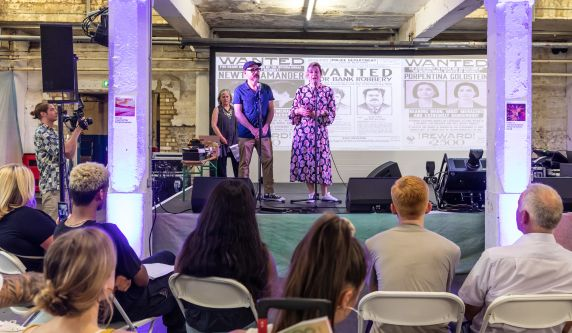 Guest speakers offer tips to students on how to get into the Creative Industries