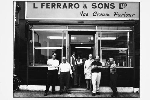 L Ferraro and Sons ice cream parlour