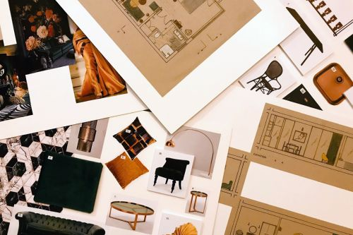 Floorplans and moodboards by Samira.