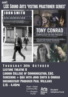 Poster design text and film stills