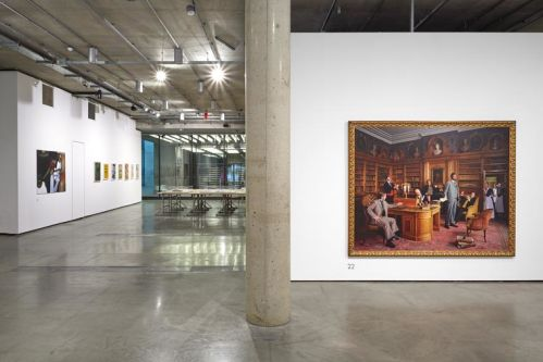Installation view of exhibition