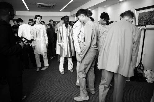LCF MA19 Menswear Backstage