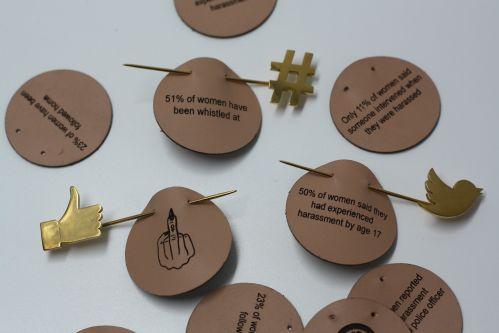 Image of handmade badges