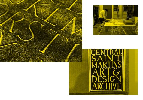 Research in the Central Saint Martins Museum and Study Collection