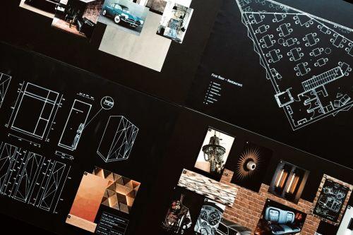 Samira's final exhibition work.