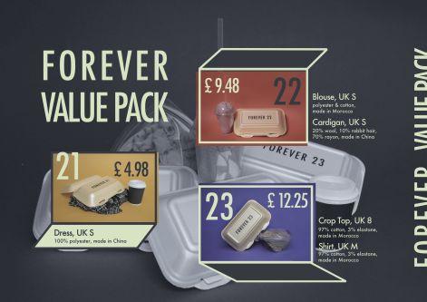 Example of food packaging.