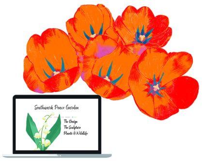 Website design for Southwark Peace Garden